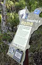 Interpretive Trail sign