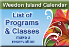 List of Programs & Classes at Weedon Island Preserve Cultural & Natural History Center