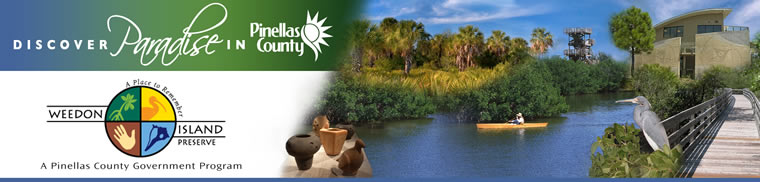 link to Weedon Island Preserve home page
